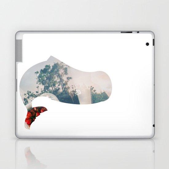 Whale. Laptop & iPad Skin