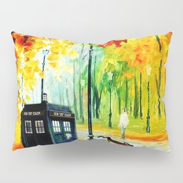Tardis Art Waiting Somebody Pillow Sham