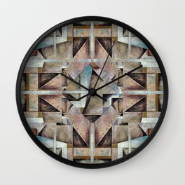 Granny Smith Geometric Wall Clock