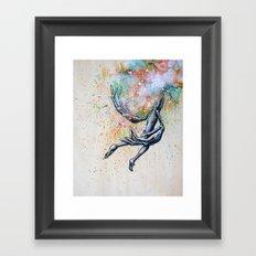 Floater Framed Art Print