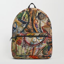 Faces Faces Backpack