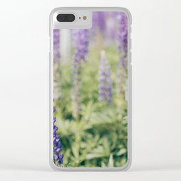 Lupins 2 Clear iPhone Case