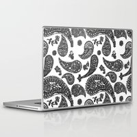 paisley Laptop & iPad Skins featuring Paisley  by guissëpi