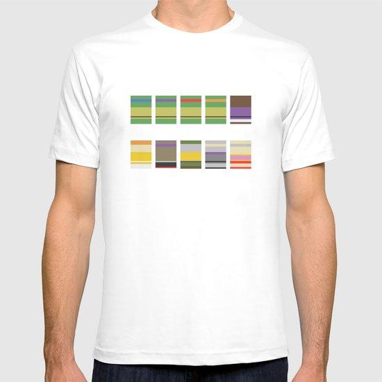 Minimalist Ninja Turtles T-shirt