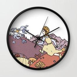 The Magic Swan Geese Wall Clock