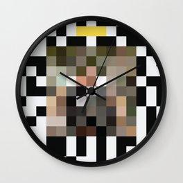 Pixel Pinata Wall Clock