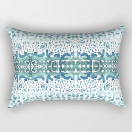 watrcolor wave Rectangular Pillow