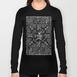 Mayan Spring B&W II Long Sleeve T-shirt