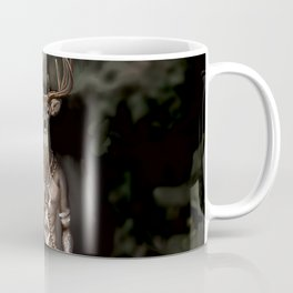 Skinwalker Navajo inspired shapeshifter with deer head Coffee Mug