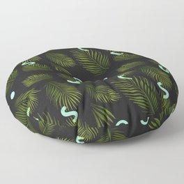 Tropical Neon Floor Pillow