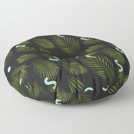 Tropical Neon Floor Pillow