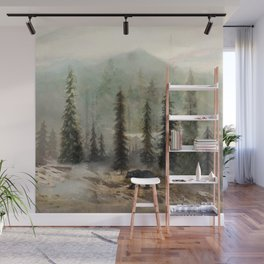 Mountain Black Bear Wall Mural