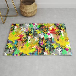AltErEd tExtUrE Rug