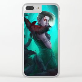 Raven Queen Clear iPhone Case