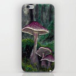Mushrooms 2 iPhone Skin