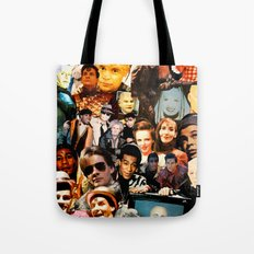 Red Dwarf Fan Collage Tote Bag