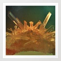 Space Crystal III Art Print