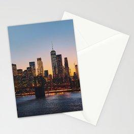 New York City Skyline Stationery Cards