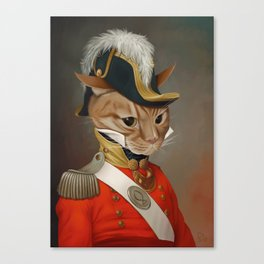 Sir Comet Thelonious, esq Canvas Print