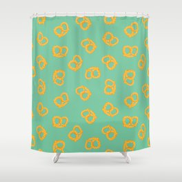 These Pretzels Are Making Me Thursty Shower Curtain