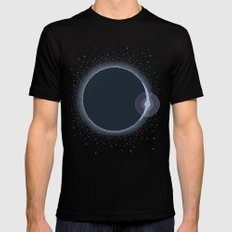 Total Solar Eclipse Summer 2017 Commemorative Poster (Pixel Art) LARGE Mens Fitted Tee Black
