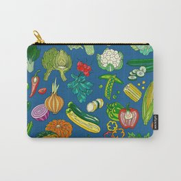 Vegetable Paradise by Night Carry-All Pouch