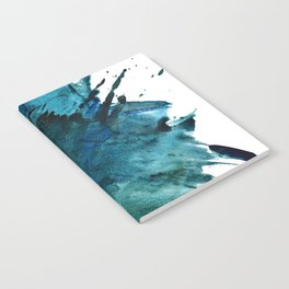 Scenic Route [2]: a pretty, minimal abstract piece in blue and green by Alyssa Hamilton Art Notebook