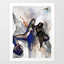 A Delicate Taste of Metal 2 Art Print