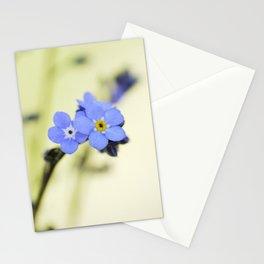 Myosotis alpestris Stationery Cards