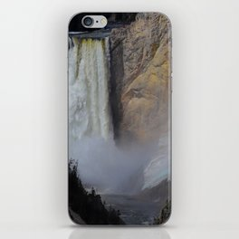 The Lower Falls iPhone Skin