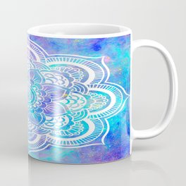 Mandala Pink Lavender Aqua Galaxy Space Coffee Mug