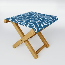 Branches - Blue Folding Stool