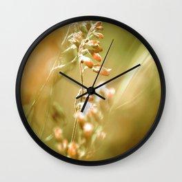 GOLDEN SPANGLES Wall Clock