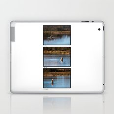Gone Fishing Triptych White Laptop & iPad Skin
