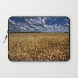 Amber Waves Of Grain Laptop Sleeve