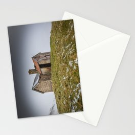 Snowswept Cottage Stationery Cards