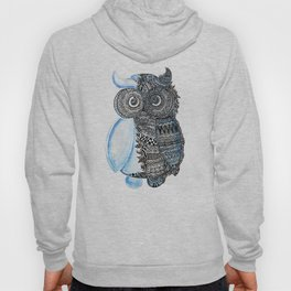 watercolor owl Hoody