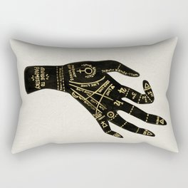 Palmistry Rectangular Pillow