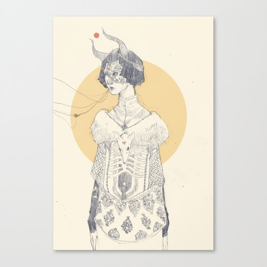 Echoed Canvas Print