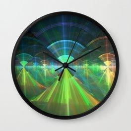 Native American Wi-Fi Wall Clock