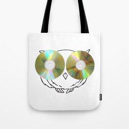 CD Owl Tote Bag