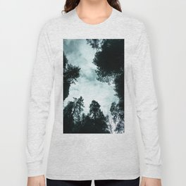 Redwood Forest Adventure - Nature Photography Long Sleeve T-shirt