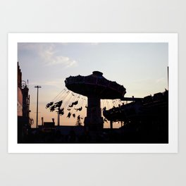CNE Sunset Art Print
