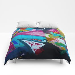 Color Rounds Comforters