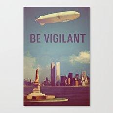 Fringe Division: Be Vigilant Canvas Print