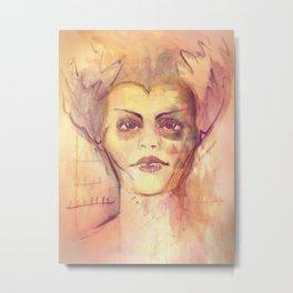 Mrs. Monster Metal Print