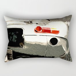 Jaguar E-TYpe Rectangular Pillow