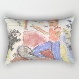 Galapagos Chillen Rectangular Pillow