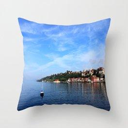 Lake Constance  Throw Pillow