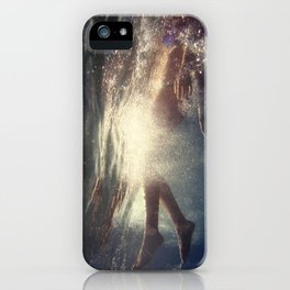 Life is the very opposite of death iPhone Case